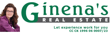 Ginena's Real Estate, Estate Agency Logo